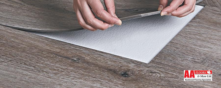 Sheet or Tile Vinyl Flooring
