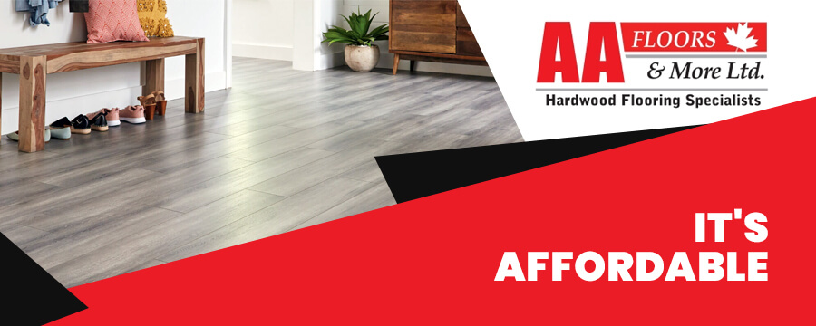 Laminate Flooring is Affordable