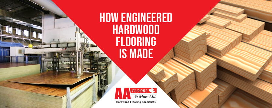 Making of Engineered Hardwood Flooring