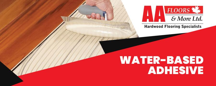Water-based adhesive