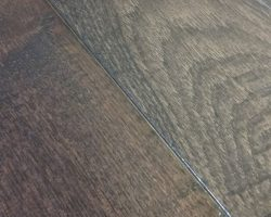 "Hardwood Canada Hanscraped & Distressed Hickory 3-1/4"" x 3/4"" Charcoal"