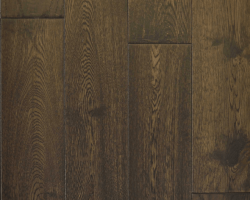 Hardwood Canada Hanscraped & Distressed Oak Black Brown