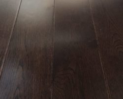 "Hardwood Canada Oak 3-1/2"" x 3/5"" Chocolate"