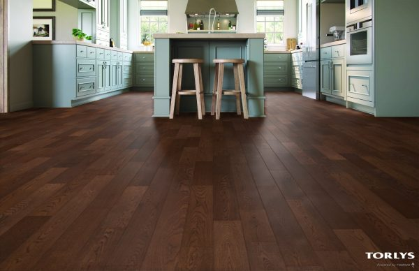 "TORLYS Select Strip Engineered ""Click"" - SUNSET BAY OAK"