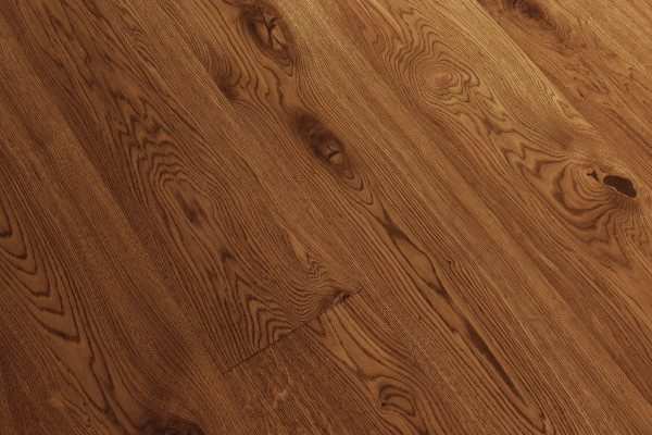 Hardwood Canada Wide Plank Collection White Oak - WIRE BRUSHED CHAMPS ELYSEES