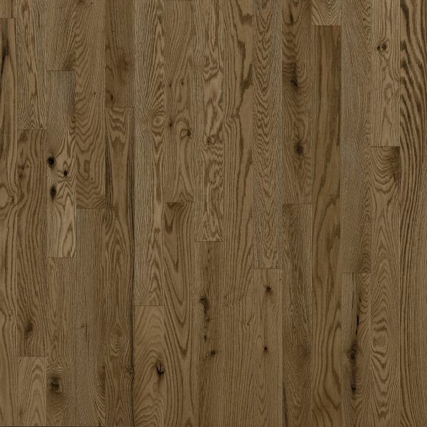 "Preverco SolidGenius 5-3/16"" x 3/4"" Red Oak Nuance Brushed - KOMODO"