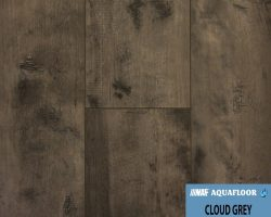 NAF AquaFloor Vinyl Plank Flooring - CLOUD GREY