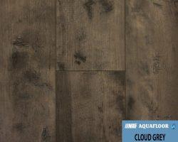 NAF AquaFloor Vinyl Plank Flooring - CLOUD GREY