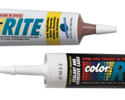 Color Rite Siliconized Acrylic Adhesive Caulk