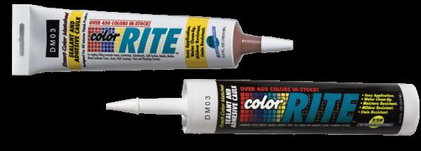 Color Rite Siliconized Acrylic Adhesive Caulk