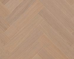TORLYS Everest Twist Engineered Herringbone Hardwood - EVERGLADE OAK