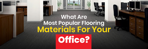 flooring materials suitable for commercial office spaces
