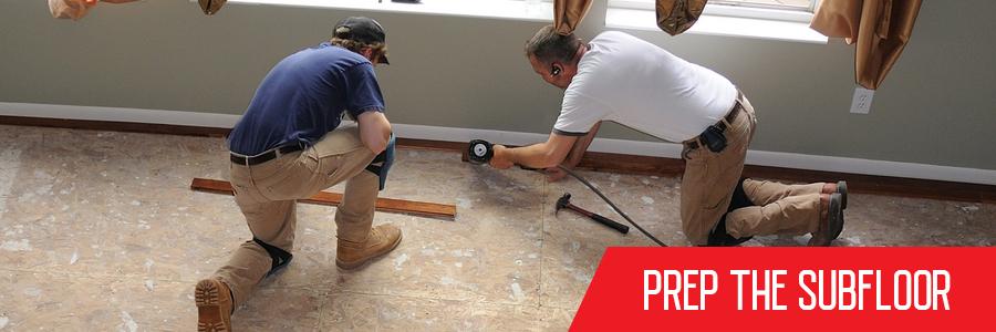 Subfloor Preparation for Vinyl Flooring