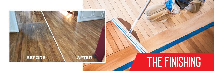 Finishing Wood flooring in Toronto