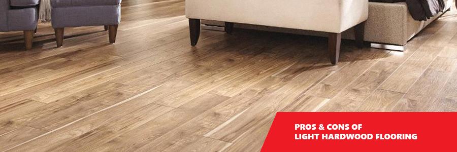 Pros & Cons of Light Hardwood Flooring